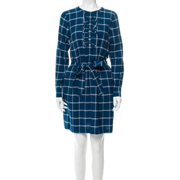 Draper James Dresses & Skirts - Draper James blue plaid dress